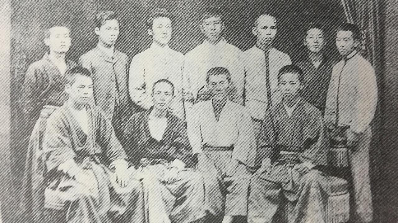 漱石 勉学に励む