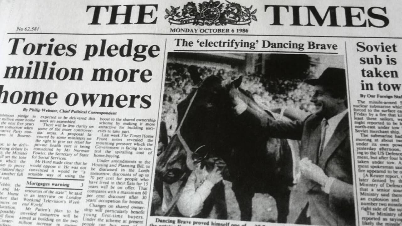 英国最強馬とポエニ戦争