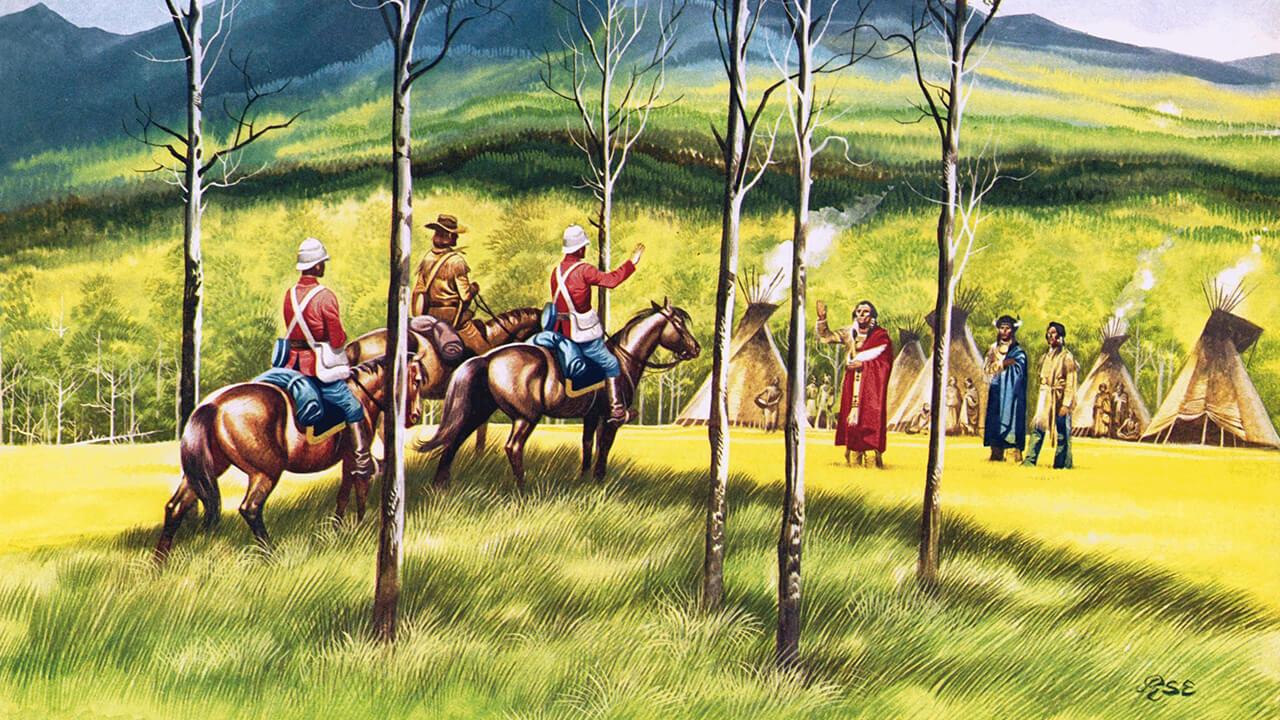 馬を知らなかったアメリカ・インディアン