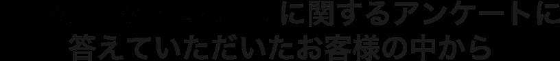 netkeiba.comに関するアンケートに答えていただいたお客様の中から