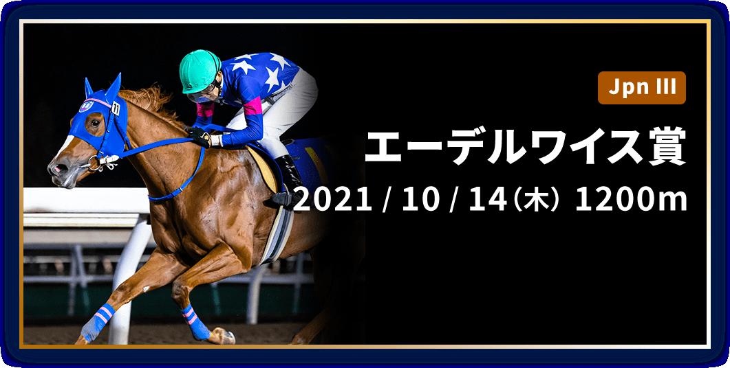 エーデルワイス賞 2021/10/14(木) 1200m