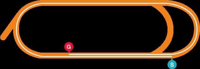 大井(右)2000mコース