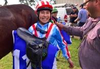 臼井健太郎騎手、オーストラリアで初勝利挙げる
