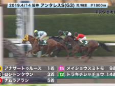 【平安S2019】参考レース
