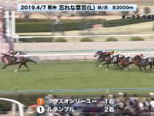 【オークス2019】参考レース