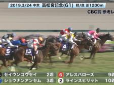 【CBC賞 2019】参考レース