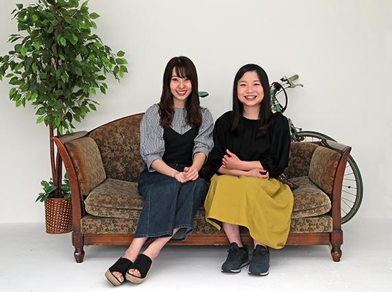 「20代UMAJOの主張。———ワタシたちの時代」<第14回>藤江れいな×鈴木麻優