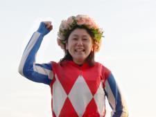 「復帰して良かった!」女性騎手、涙の優勝