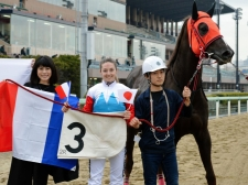 【地方競馬】ミシェルが魅せた 来日以来初めて1日2勝をマーク