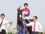 【船橋・東京湾C】人気に応えて勝利したギガキング 和田譲治騎手「ダービーが本当に楽しみ」