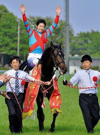 13年のダービーを制覇したキズナ。現在は種牡馬として奮闘中だ