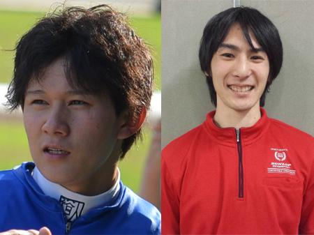 石川裕紀人騎手の新バレットは大井の元厩務員!(右)