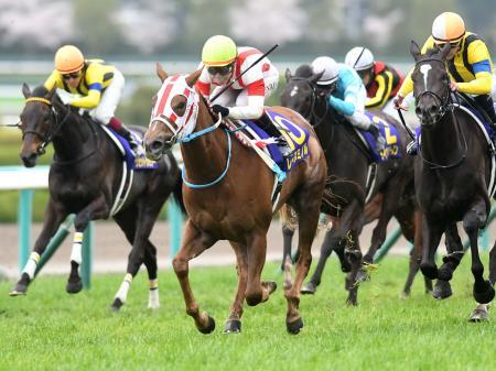 池添謙一騎手騎乗の8番人気レーヌミノルが優勝