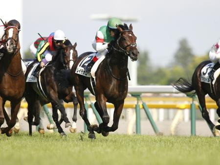 ルメール騎手騎乗のレイデオロが日本ダービーを制覇(c)netkeiba、撮影:下野雄規