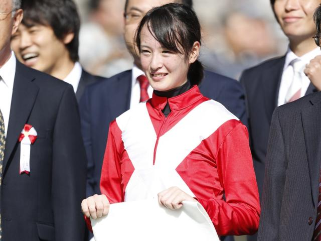 「もっと上を目指せるように頑張っていきたい」と語った藤田菜七子騎手(C)netkeiba.com、撮影:下野雄規