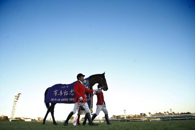 2016年の有馬記念を制したサトノダイヤモンド(撮影:下野雄規)