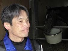 キタサンブラック管理・清水久詞調教師を直撃!(提供:東京スポーツ)