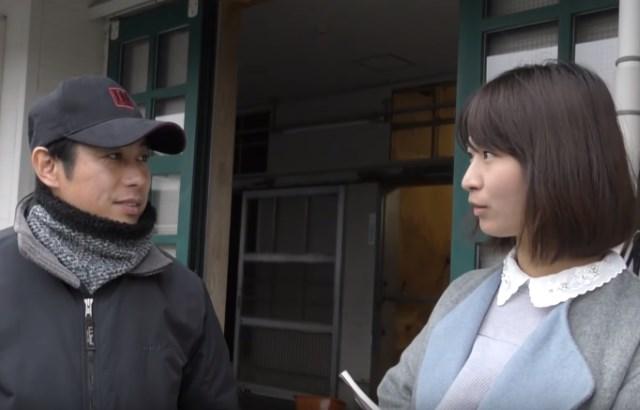 ラッキーライラック・松永幹夫調教師を稲富菜穂が直撃!(提供:東京スポーツ)