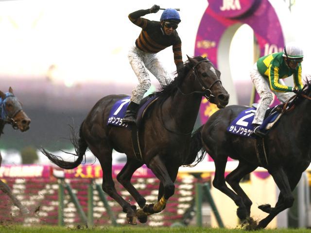 このレースで引退するキタサンブラック(撮影:下野雄規)