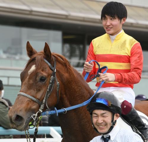 阪神4Rはハギノフロンティアが勝利(c)netkeiba.com