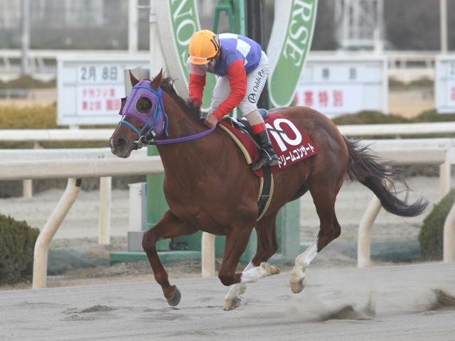 川原正一騎手騎乗の9番人気ドリームコンサートが優勝