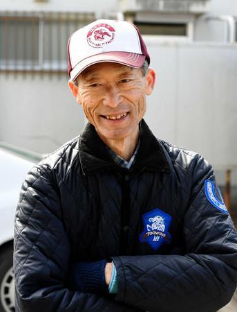 2月末で引退する和田正道調教師