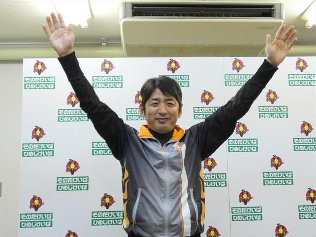 調教師試験に合格した木村健騎手(撮影:大恵陽子)