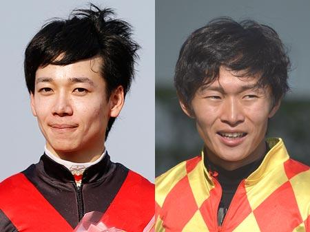 兵庫県出身の松山弘平騎手と荻野琢真騎手が中心の、阪神競馬場イベントを開催