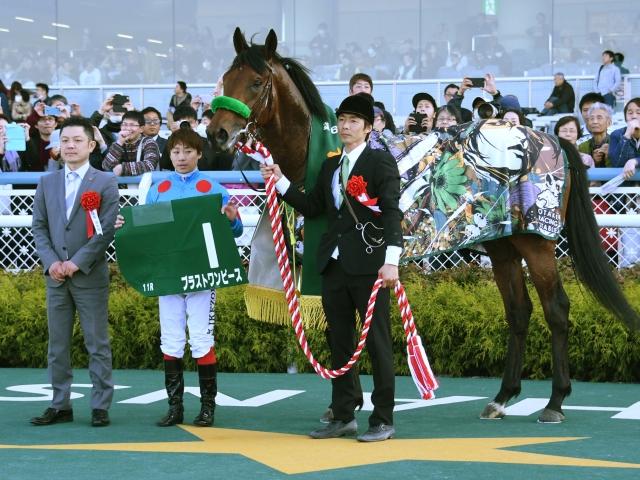 ブラストワンピースが無傷の3連勝で重賞制覇(c)netkeiba.com