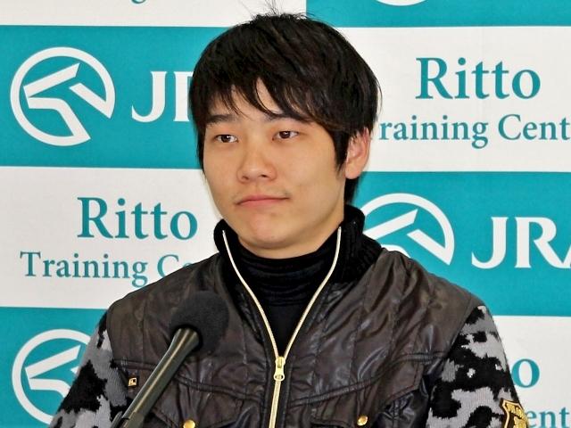 「今までで一番GI勝ちを意識している」と語ったシュヴァルグランの三浦騎手(撮影:花岡貴子)