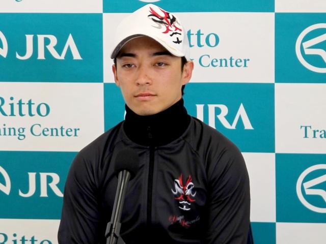 「リリーノーブル自身が持っている能力を一番発揮するのが大事」と語った川田騎手(撮影:花岡貴子)