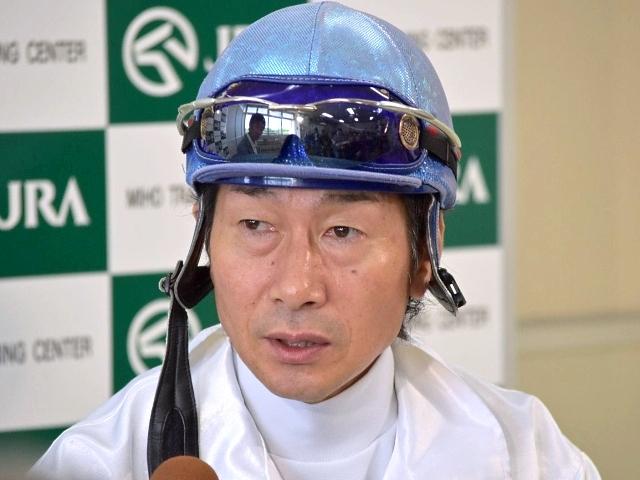 トーセンブレスについて「かなりの能力を持っていて、成長もしている」と語った柴田善臣騎手(撮影:佐々木祥恵)