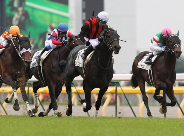 2010年のエイシンフラッシュは「Aパターン」のダービー激走馬(撮影:下野雄規)
