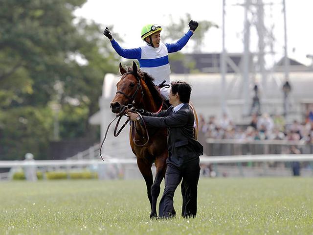 史上33頭目の顕彰馬となったロードカナロア(撮影:下野雄規)