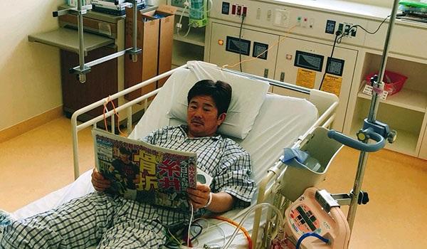 復帰については退院後の身体と相談しながら決めていきたいとのこと