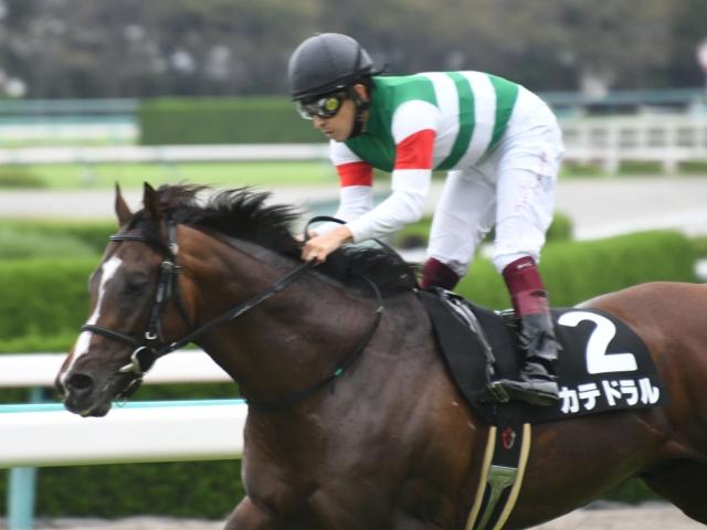 2番人気カテドラルが勝利し、福永祐一騎手はこのレース連覇