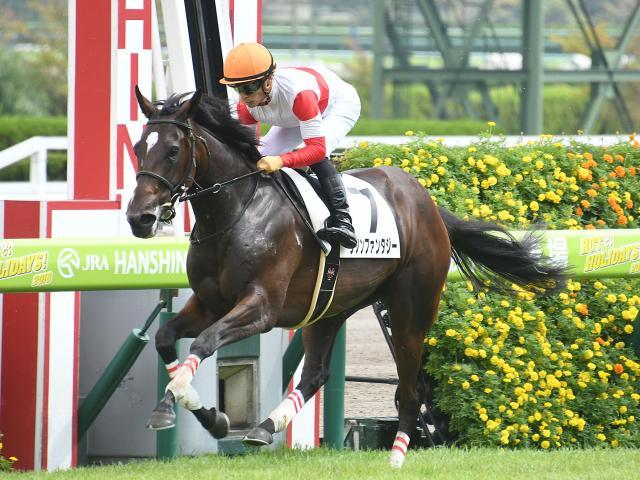 2歳未勝利は1番人気ダノンファンタジー(川田将雅騎手)が勝利