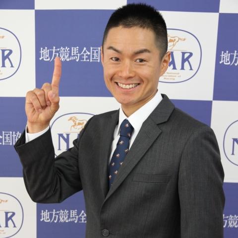 地方競馬の短期免許を取得した藤井勘一郎騎手(提供:NAR地方競馬全国協会)