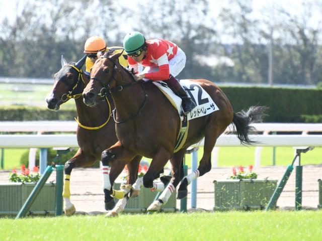 福永騎手騎乗のレッドベレーザが新馬勝ち