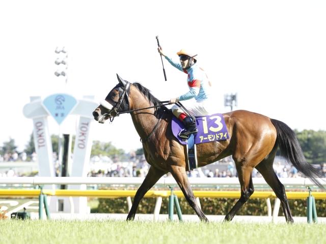 史上5頭目の牝馬3冠を目指すアーモンドアイ(撮影:下野雄規)