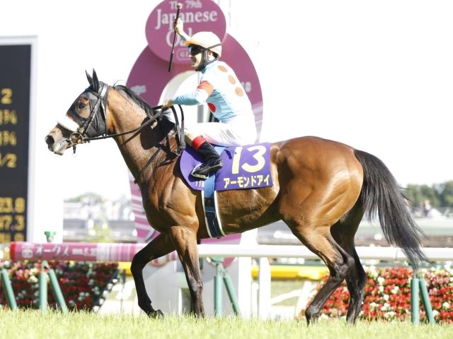 牝馬3冠を目指すアーモンドアイ(c)netkeiba.com、撮影:下野雄規