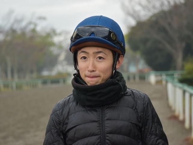 自身の初GI制覇に向けて意気込みを語る松若風馬騎手(撮影:佐々木祥恵)