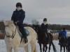 新年恒例の人気イベント・初乗り会 冬晴れの中、自然とふれあい