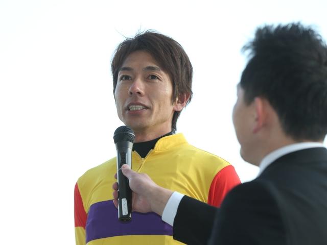 ミツバに騎乗し、川崎記念勝利を掴んだ和田竜二騎手(c)netkeiba.com、撮影:高橋正和