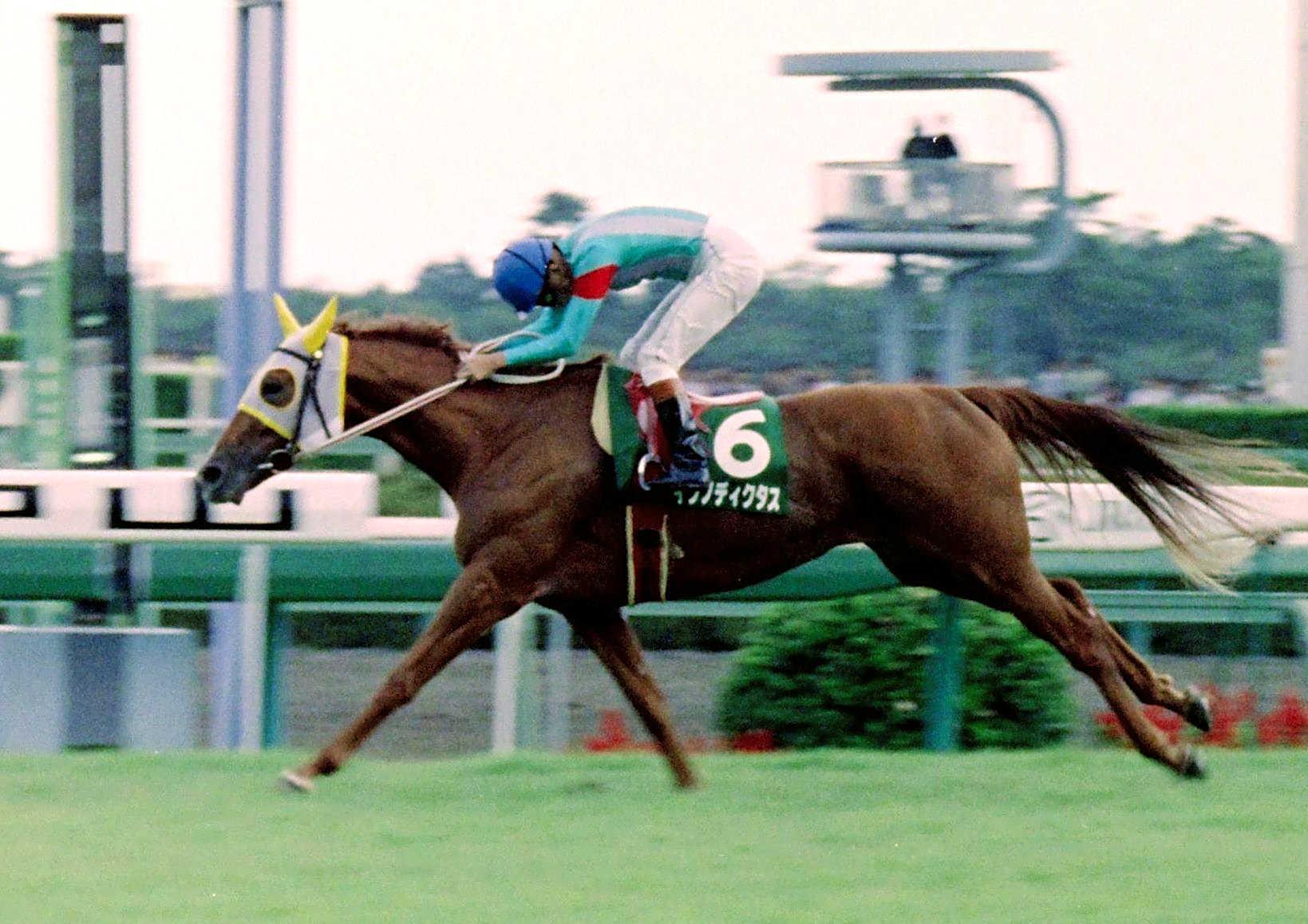 オールカマーを制したイクノディクタス=1992年9月20日・中山競馬場