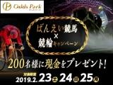 【オッズパーク】ばんえい競馬×競輪キャンペーンで現金を200名様にプレゼント!