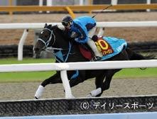 栗東DPで研ぎ澄まされた馬体を誇示したフミノイマージン