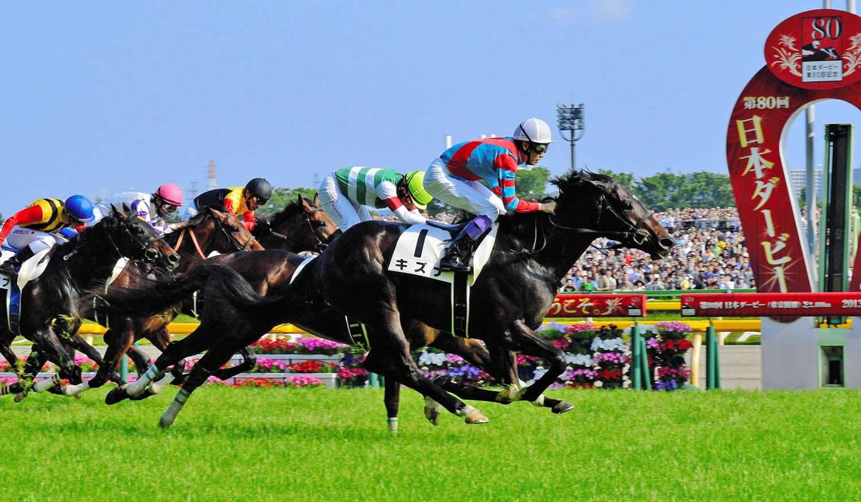 2013年の日本ダービーを制した際のキズナ。種牡馬としてはどんな歴史を残すか