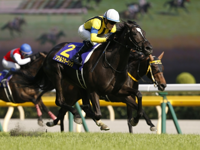 GI・2勝馬ソウルスターリングは武豊騎手との新コンビ(写真はオークス優勝時、撮影:下野雄規)