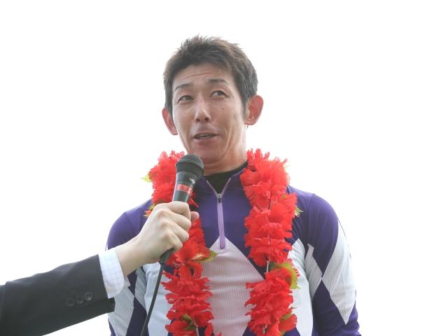 15日の園田競馬で8戦6勝の下原理騎手(撮影日は2018年7月12日、撮影:稲葉訓也)